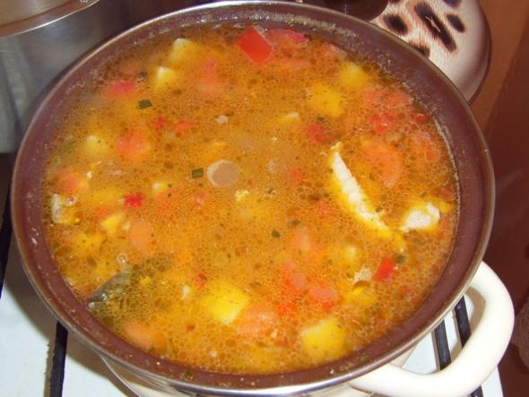 Суп с фасолью и лапшой - шаг 5