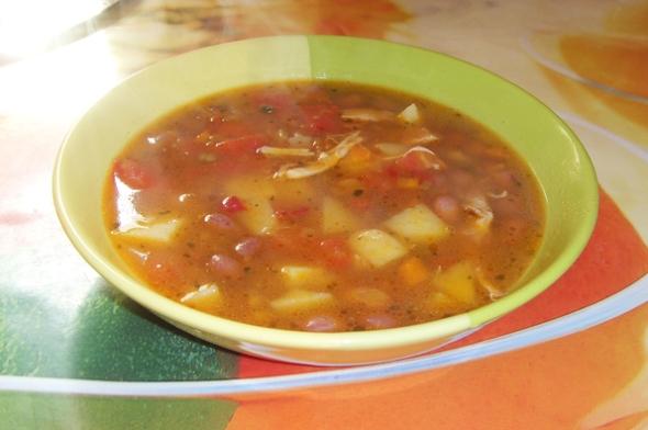 Суп с фасолью и лапшой - шаг 6