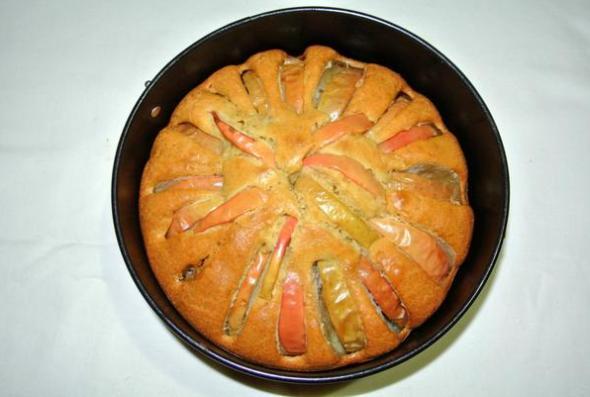 Яблочный пирог на сметане - шаг 5
