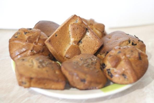 Шаг 7 - кексы из ржаной муки