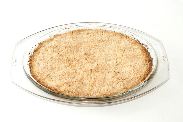 Яблочный янглийский пирог крамбл