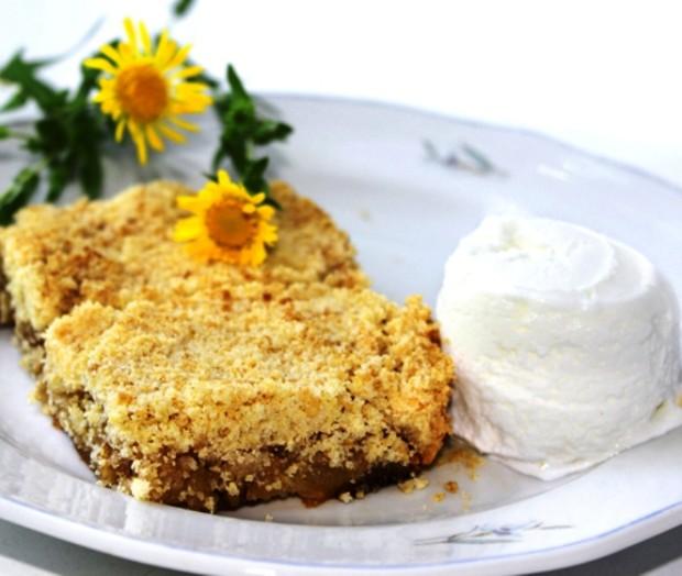 Английский пирог яблочный пирог крамбл