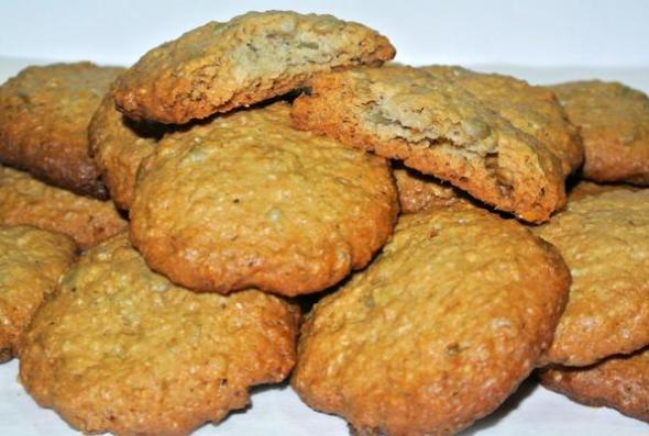 Овсяное печенье на маргарине