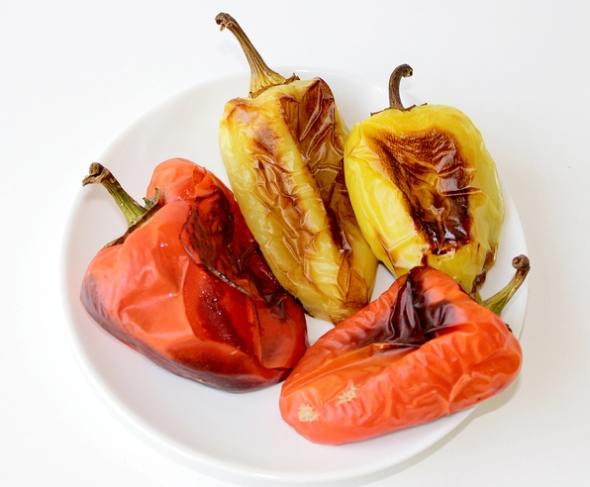 Запекаем в духовке перец
