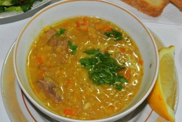 Добавьте к супу зелень