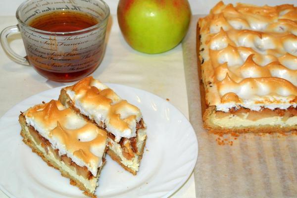 Немецкий яблочный пирогШаг 11