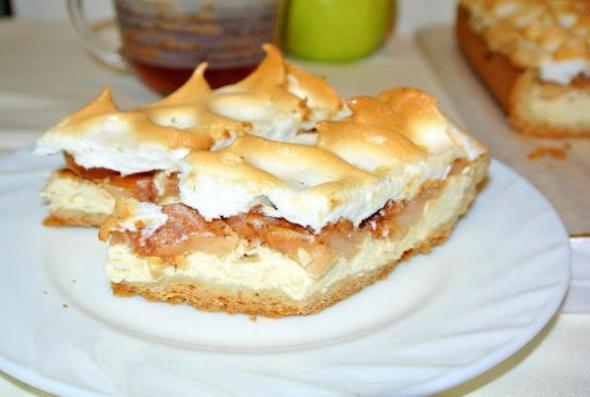 Немецкий яблочный пирог, по немецкому рецепту, - итоговое фото