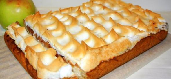 Пирог лимонный песочный, фото
