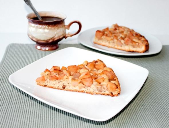 Нормандский пирог, итоговое фото
