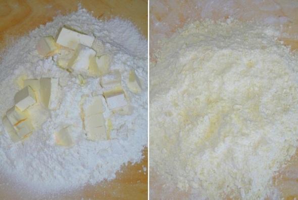 Песочное печенье с яблоками - шаг 1