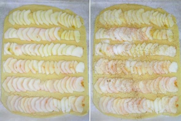 Песочное печенье с яблоками - шаг 5