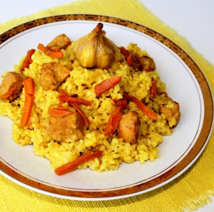 плов из филе курицы рецепт с фото пошагово