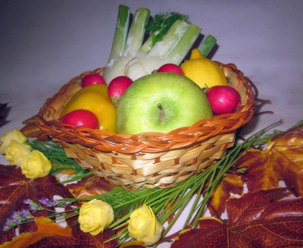 Ингредиенты для салата с фенхелем