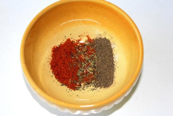 Костица - шШг 2 - готовим смесь для маринования