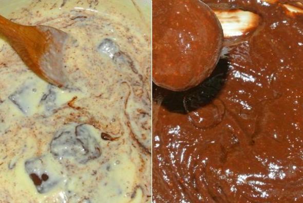 Шаг 5 - добавляем шоколад