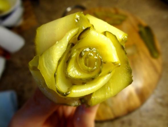 Шаг 7 - роза готова