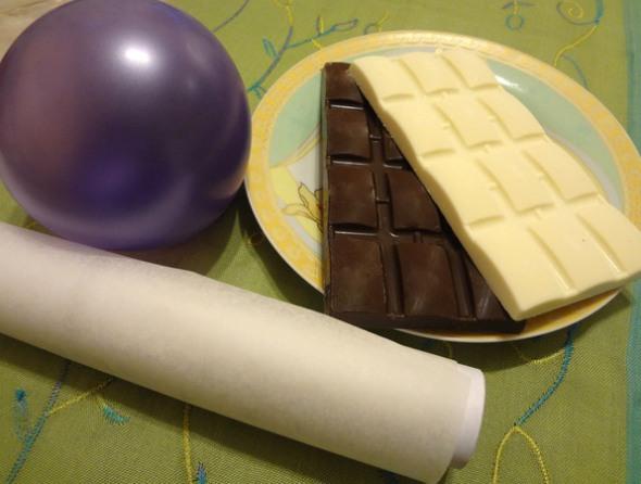 Продукты для шоколадной корзинки