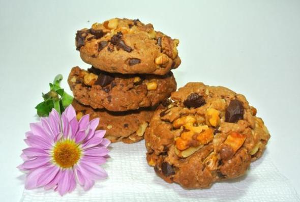 Печенье из шоколадного теста