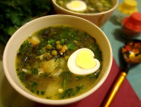 Суп с белых свежих грибов рецепт пошагово