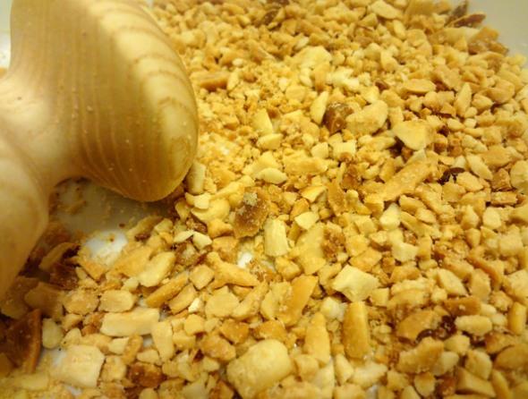 Шаг 6 - измельчите орехи