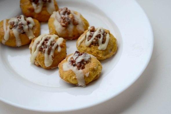 Тыквенное печенье - итоговое фото