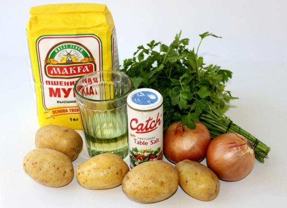 Молдавские пирожки - ингредиенты