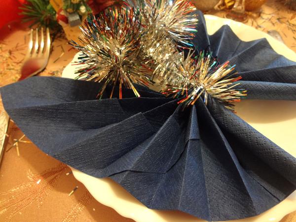 Бабочки из салфетки - шаг 13