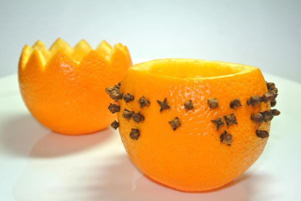 Фруктовый салат в апельсиновых пиалах – шаг 3