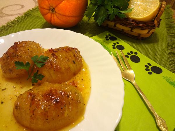 Картофель в апельсиновой глазури – шаг 10