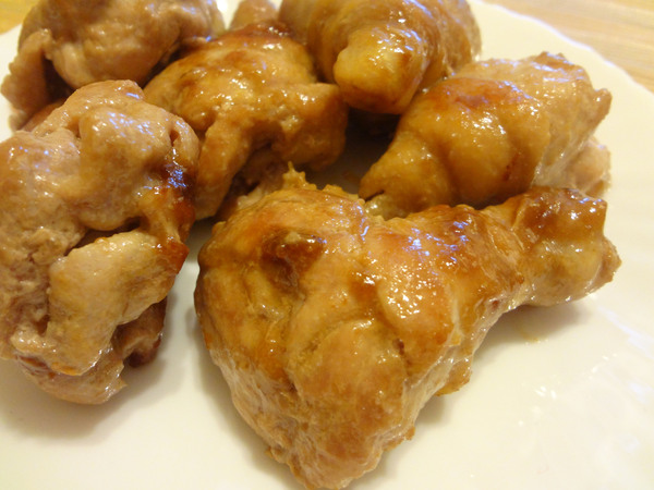 Шаг 4 - достаньте из сковороды мясо