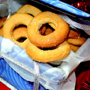 Печенье в форме колец