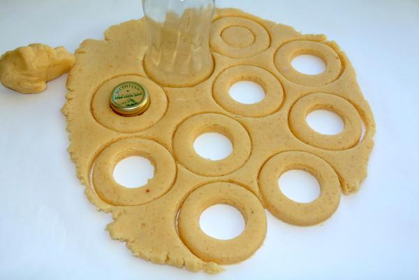 Медовые кольца – шаг 6