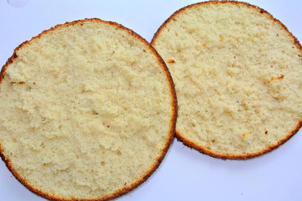 Медовый бисквит - шаг 6