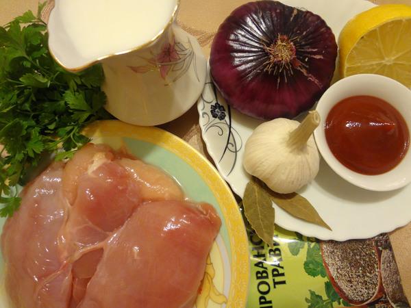 Мясо по-тирольски – ингредиенты
