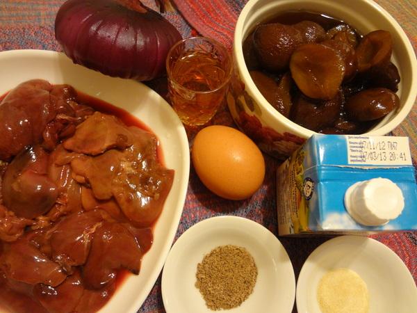 Паштет из куриной печени – шаг 1