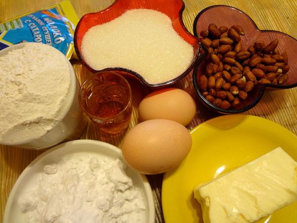 Печенье альфахорес - ингредиенты