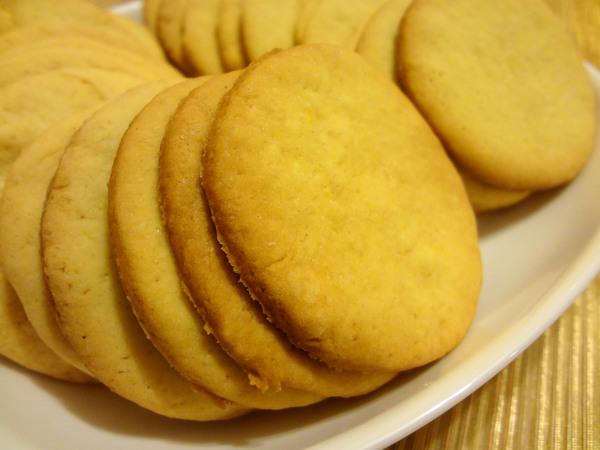 Шаг 7 - выпекайте печенье до кремового цвета