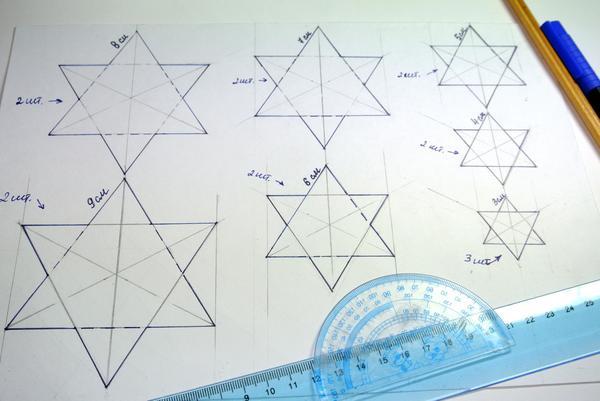 Пряничные иелочки - шаг 1