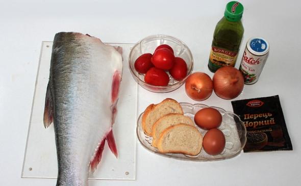 Рыбные котлеты - ингредиенты