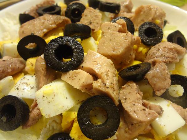 Салат с печенью трески – шаг 12