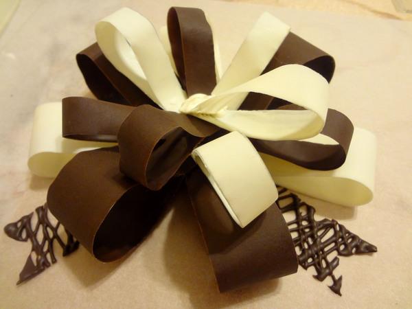 Шоколадный бант – шаг 19