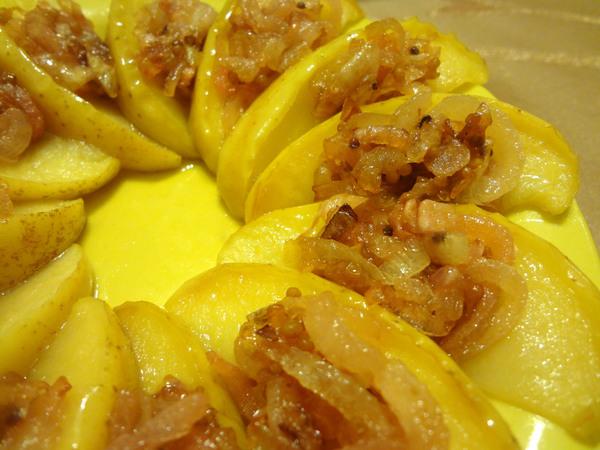 Закуска из сельди и яблок – шаг 9