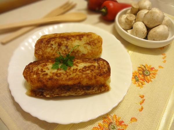Картофельные зразы с грибами – шаг 13