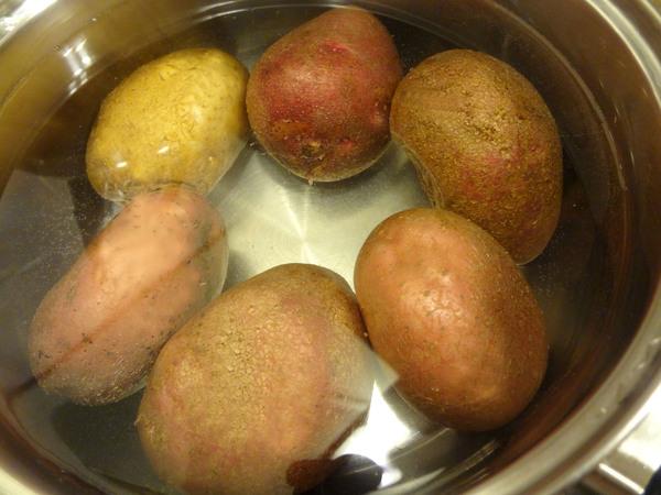 Картофельные зразы с грибами – шаг 1