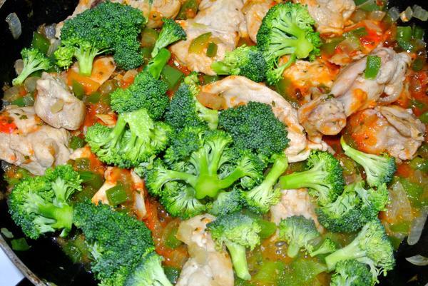 Шаг 6 - добавьте брокколи