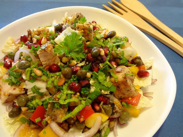 Салат с курицей и грибами – шаг 12