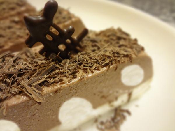 Творожно-шоколадный десерт - итоговое фото