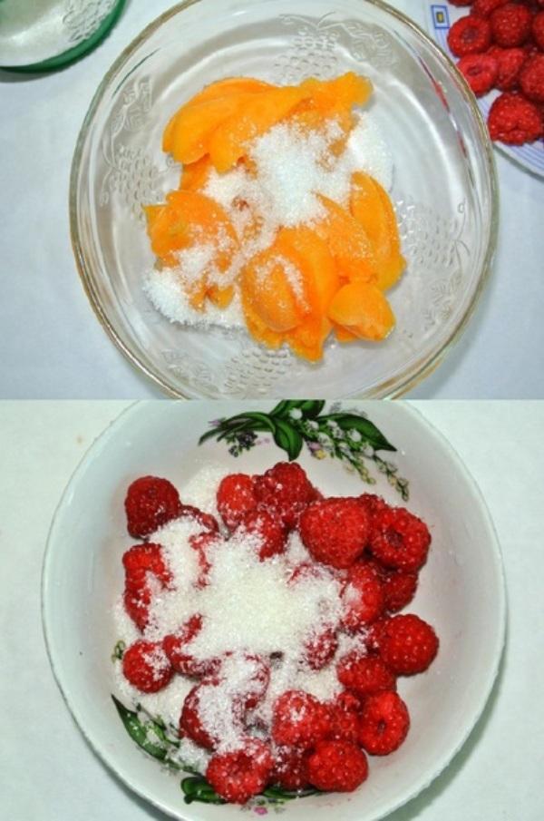 Малиново-абрикосовое желе – шаг 2