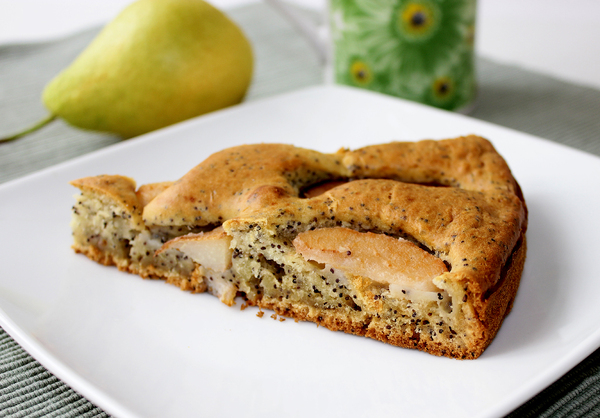 Пирог с грушами на кефире