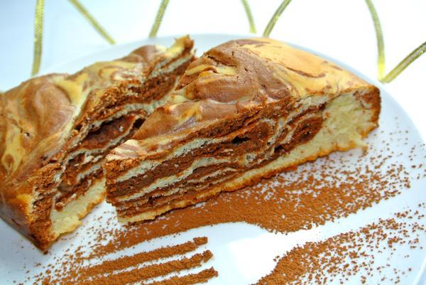 Мраморный пирог